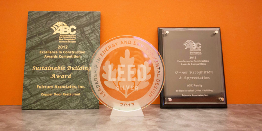 ABC and LEED Awards - Fulcrum Associates